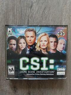 C.S.I PC Game