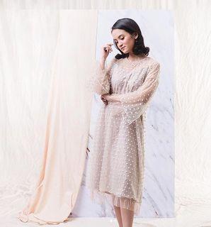 DIJUAL : Kina atelier Pearly bon dress