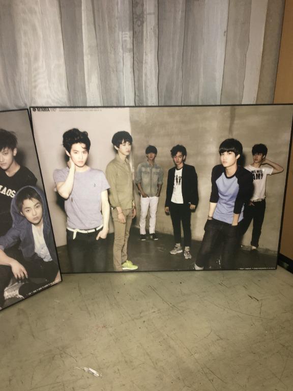 [PT002] EXO K - MAMA - Original Poster (Suho, Baekhyun, Chanyeol, D.O., Kai, and Sehun)