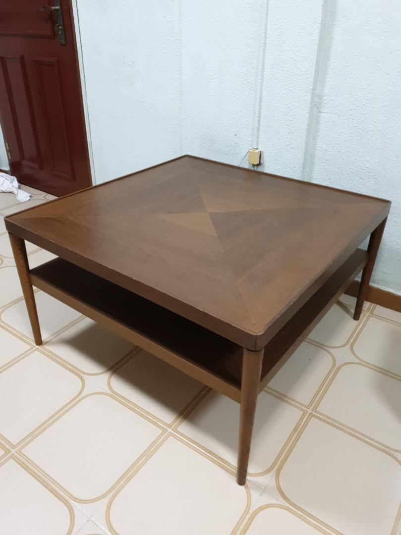 Ikea Stockholm Coffee Table Furniture Home Living Furniture Tables Sets On Carousell [ 1080 x 809 Pixel ]