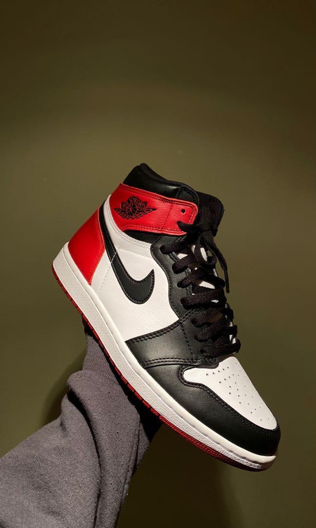 Jordan 1 Black Toes