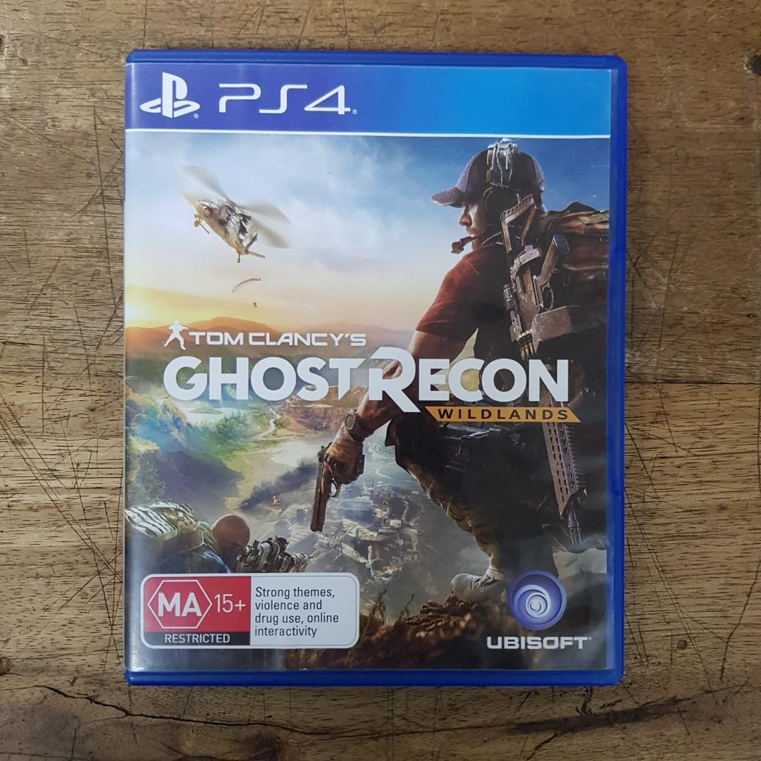 KASET PS4 GHOST RECON WILDLANDS