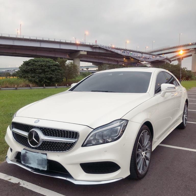 Mercedes-Benz賓士【2015年】CLS550 四門四人座轎跑車 鑽石白
