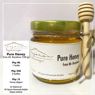 Pure Honey (from Mt. Banahaw) with Honey Dipper
