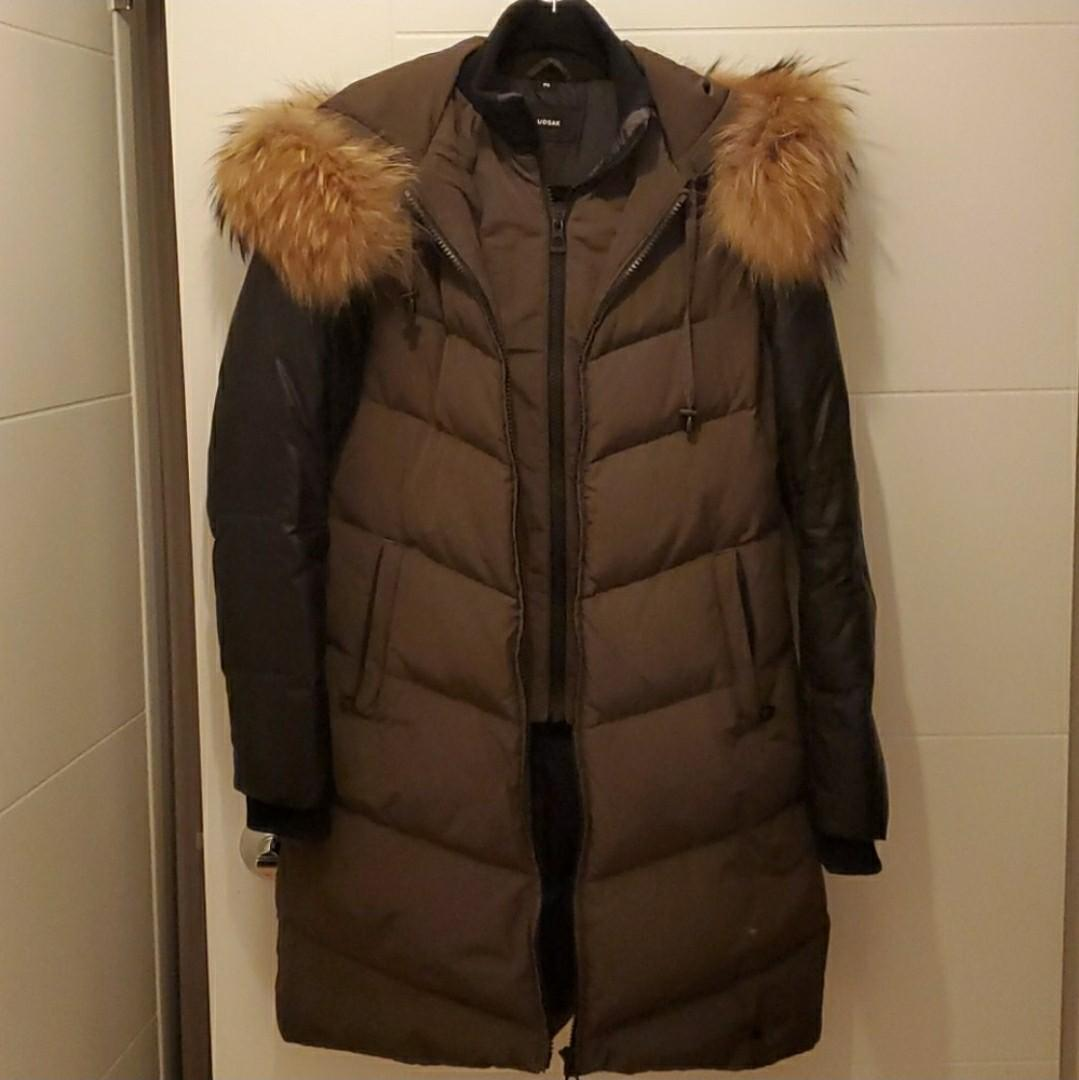 Rudsak down coat, size small