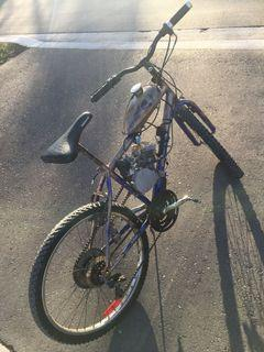 Skyhawk 66cc Motorized Bicycle