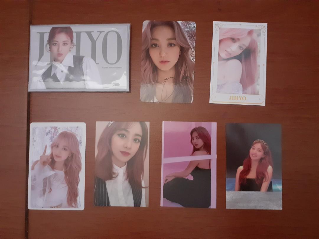 Twice Jihyo official Photocard (baca deskripsi)