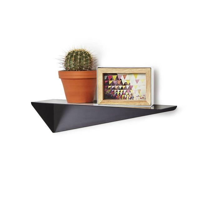 UMBRA STEALTH SHELF - BLACK - SET OF 3