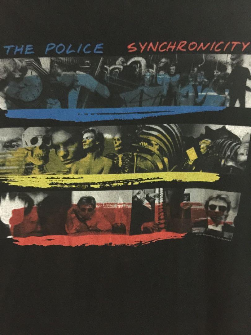 Very Rare and Vintage 1983 The Police Synchronicity Poster