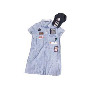 Zara TRF Denim Dress