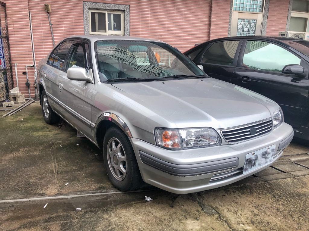 2002 Toyota Tercel 1.5 銀