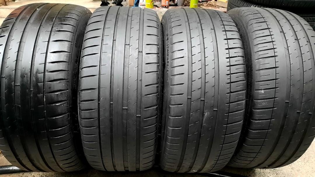 彰化員林 中古輪胎 落地胎 二手輪胎 225 40 18 米其林 實體店面免費安裝