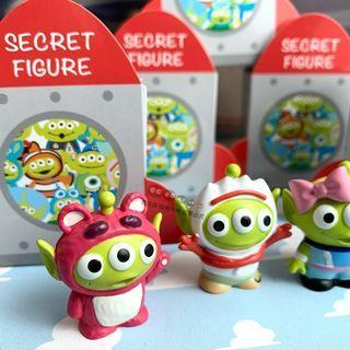 日本迪士尼 盲盒 盲抽 變裝盲盒 三眼怪 玩具總動員 收藏 擺飾