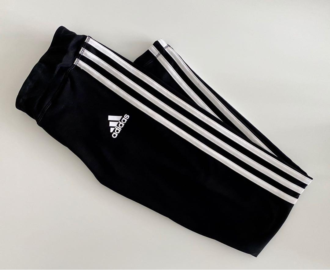 ⭑ brand new adidas 3 stripes leggings ⭑