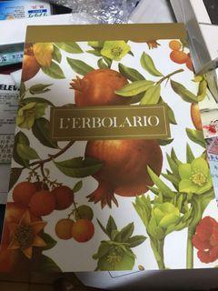 全新 L'ERBOLARIO筆記本