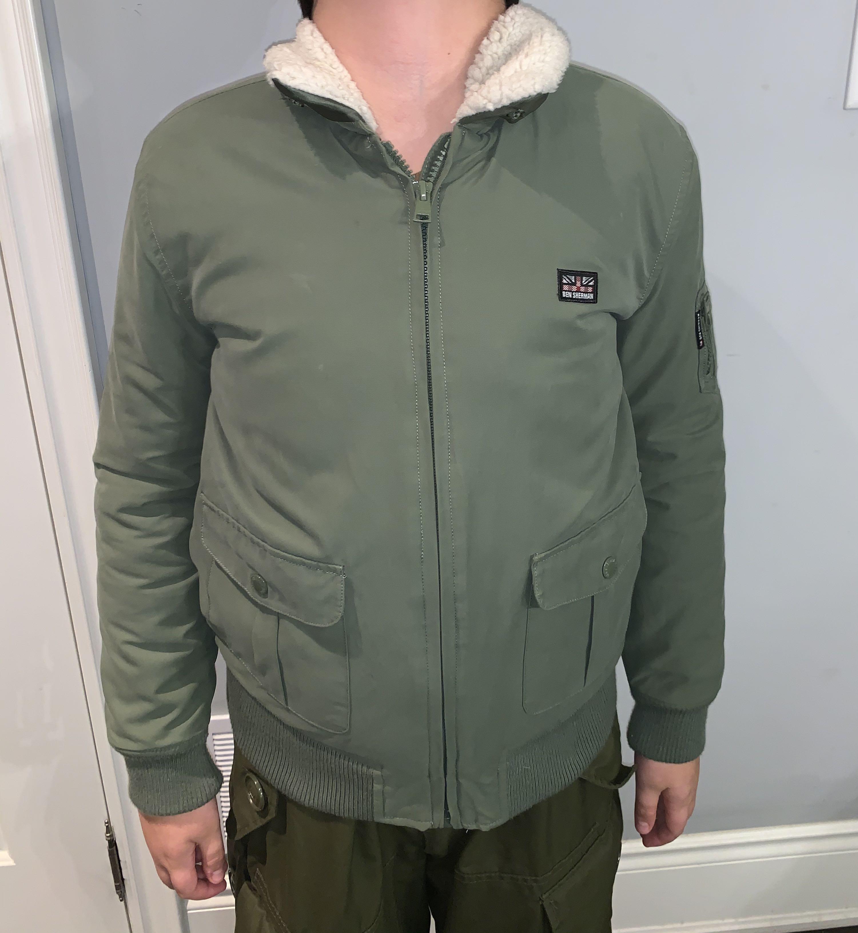 Ben Sherman pilot jacket