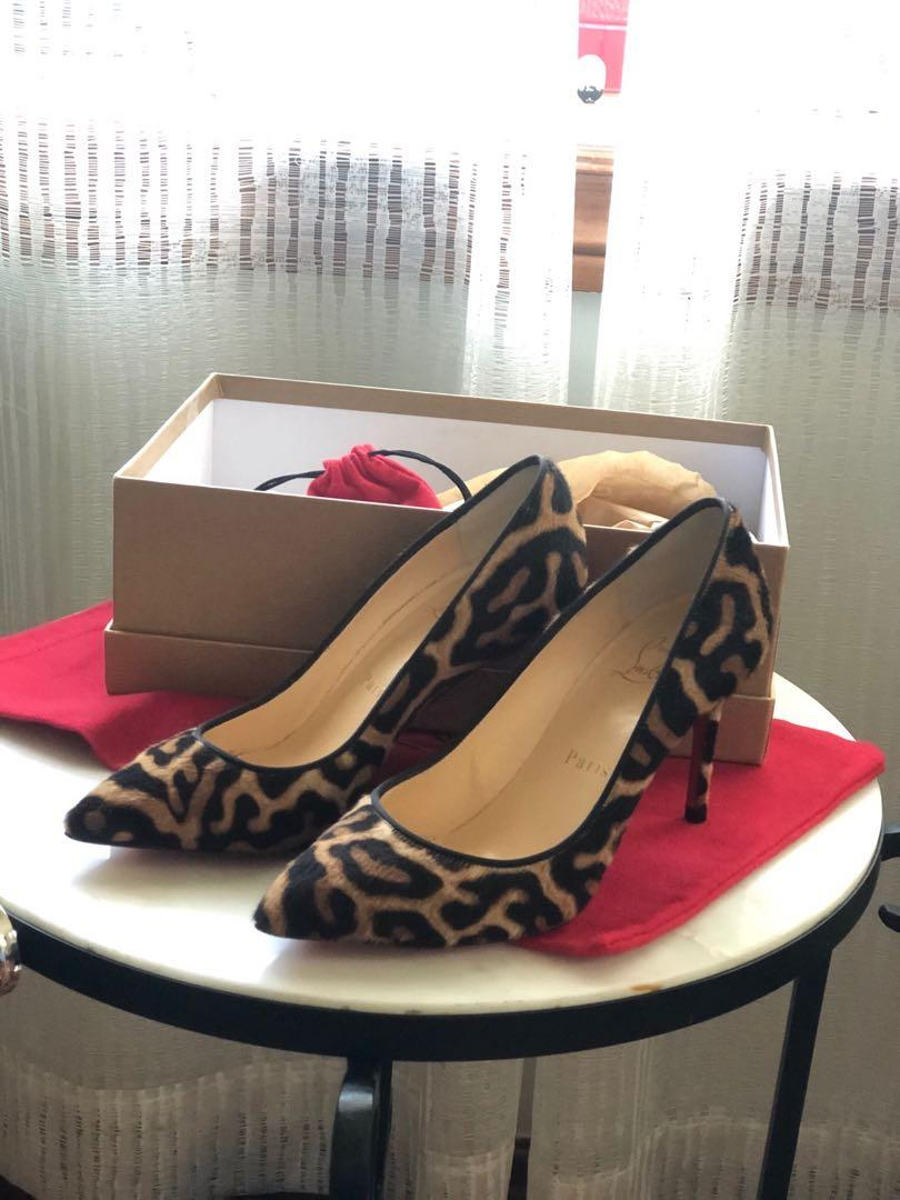 Christian Louboutin 35.5 Pigalle Follie 100