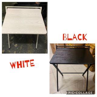 Christmas stock: black and white 60cm computer table