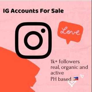 IG Account With Followers