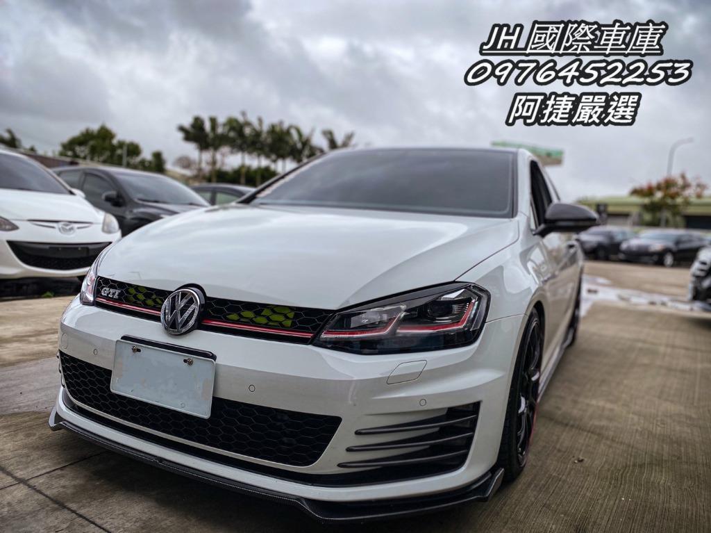 <<J.H 國際車庫>>【2015 VW Golf GTI】🔥沒薪轉勞保🔥雙證件買車🔥免頭款 免訂金