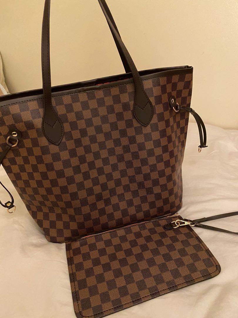 Louis Vuitton DamierPrint inspired bag