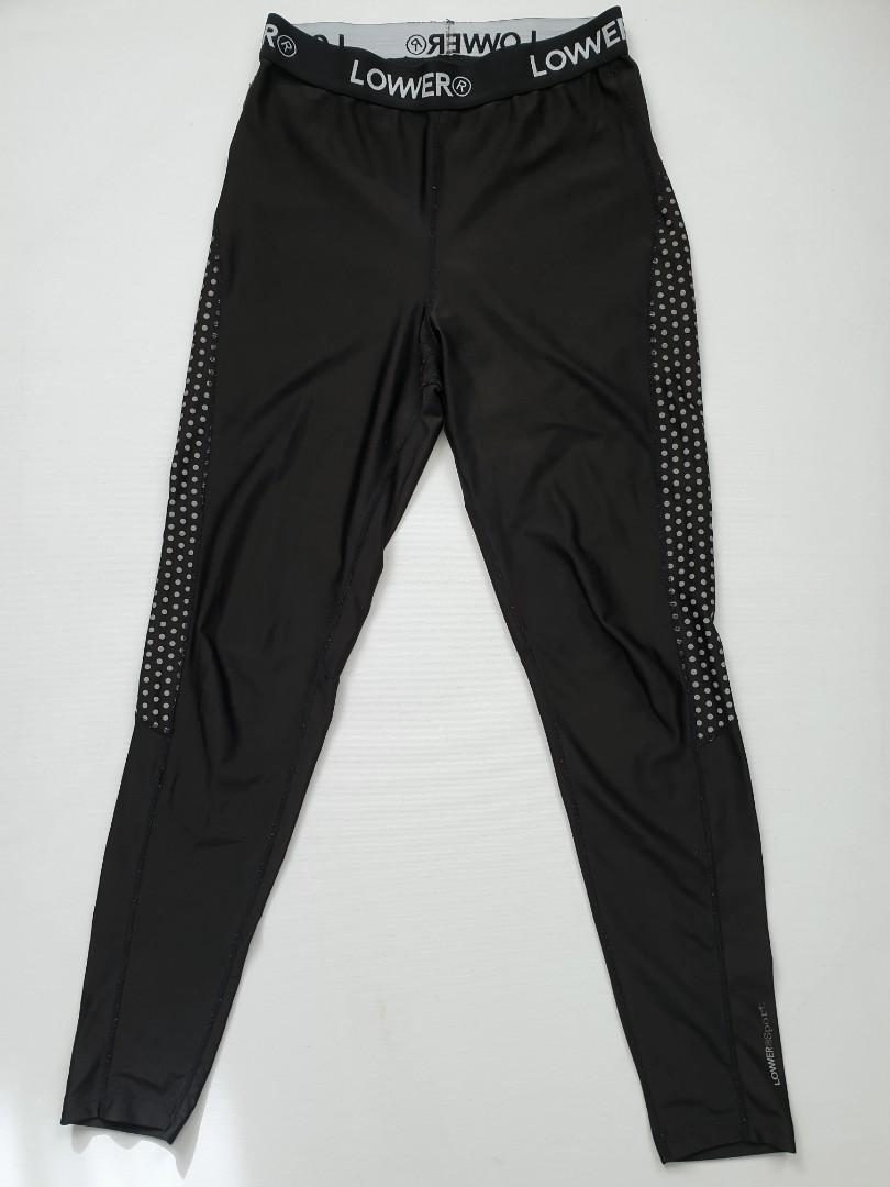 Lower reflective exercise tights