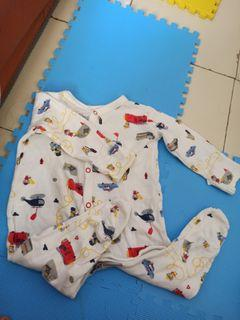 Mothercare sleepsuit preloved 3-6M
