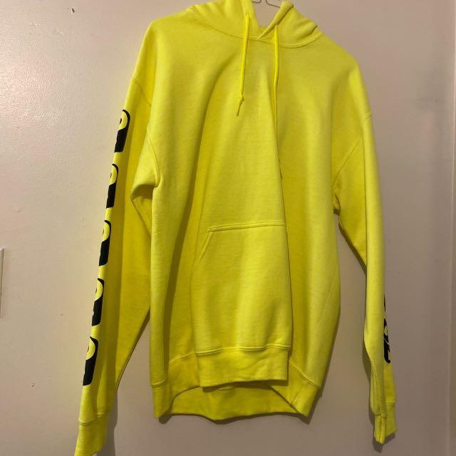 Neon yin yang hoodie