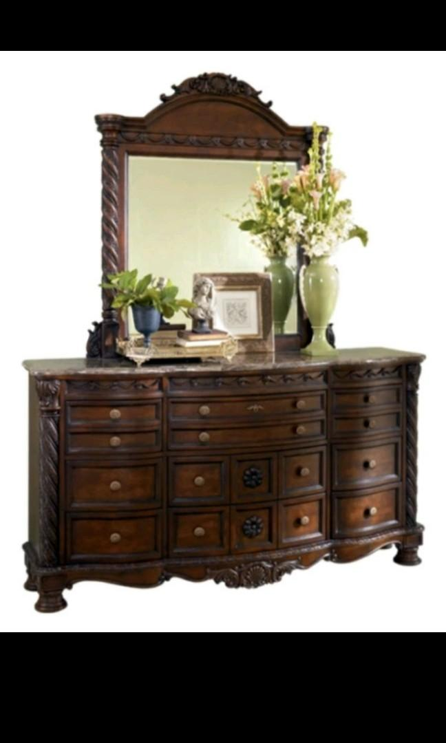 North Shore Dresser and Mirror