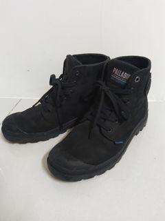 正品palladium帕拉丁防水秋冬女靴男靴中性款8.5號25號