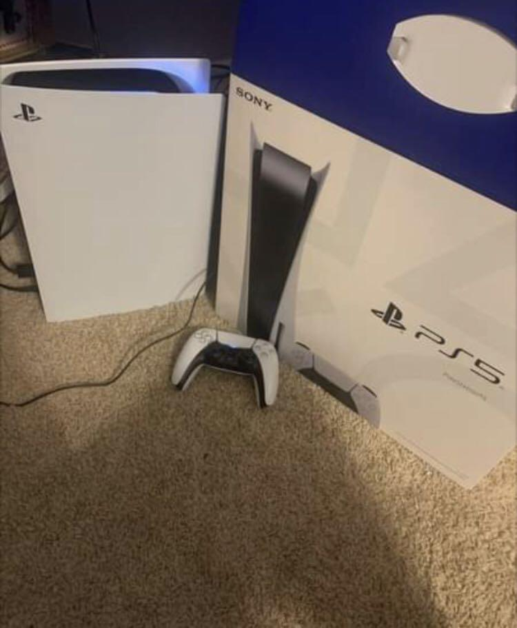 PS5 Disc Console