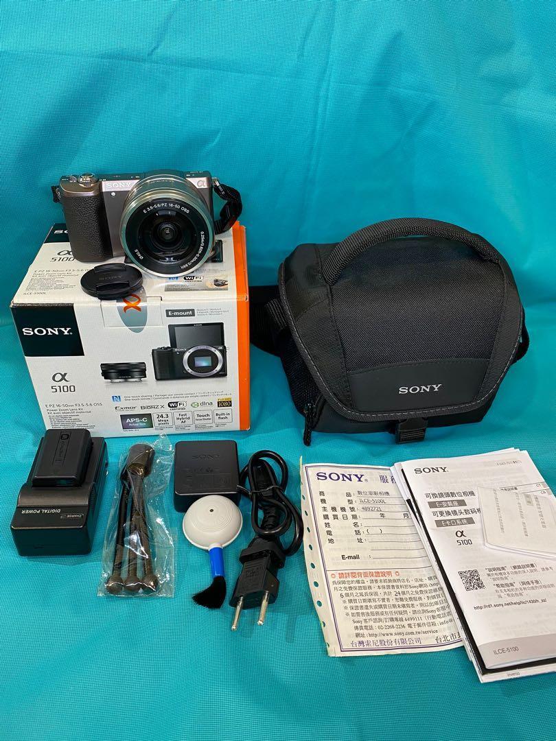 (二手9.5成新)SONY類單眼ILCE-5100L/T 棕 可換鏡頭數位相機