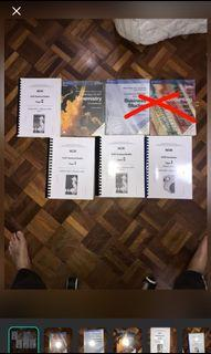 Yr 10 Textbook and Yr 11 Past Year
