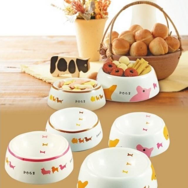 日本 Marukan 陶瓷寵物食碗 水碗 狗碗 貓碗 DC-197 DC-199