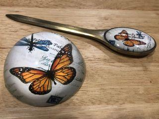 Artsy Paper Weight and Letter Opener (Set)