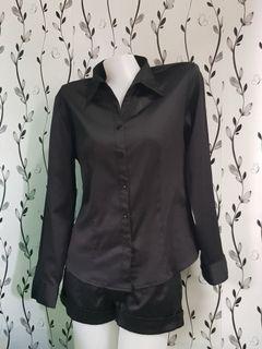 Black Silk Longsleeves