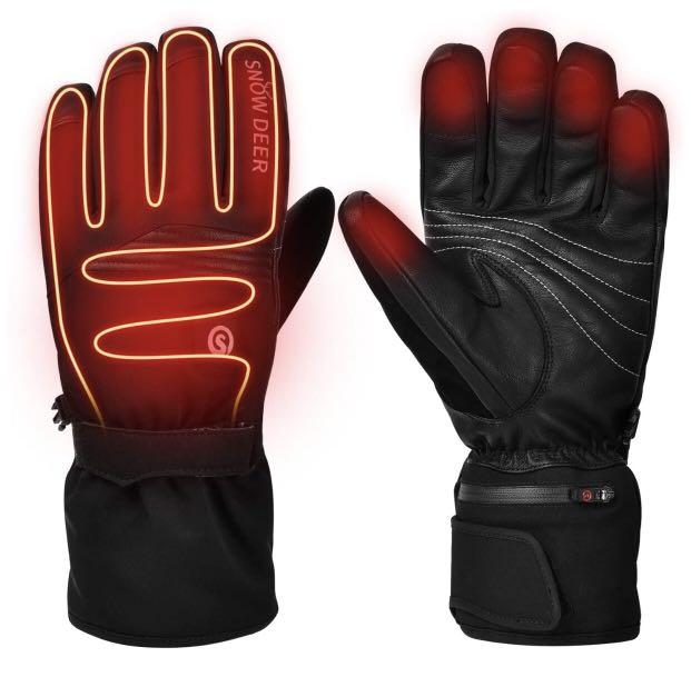 Brand new  Upgraded Heated Gloves,Electric Rechargeable Battery (size L)