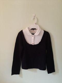 BURBERRY Simply Black And White Sleeved