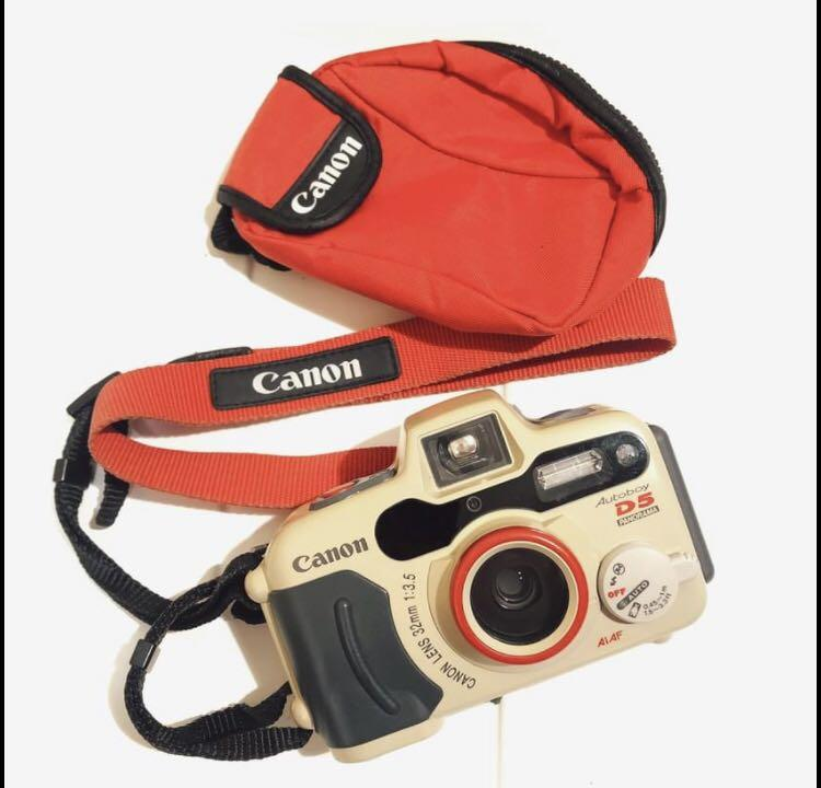 Canon Autoboy D5 傻瓜定焦潛水底片相機