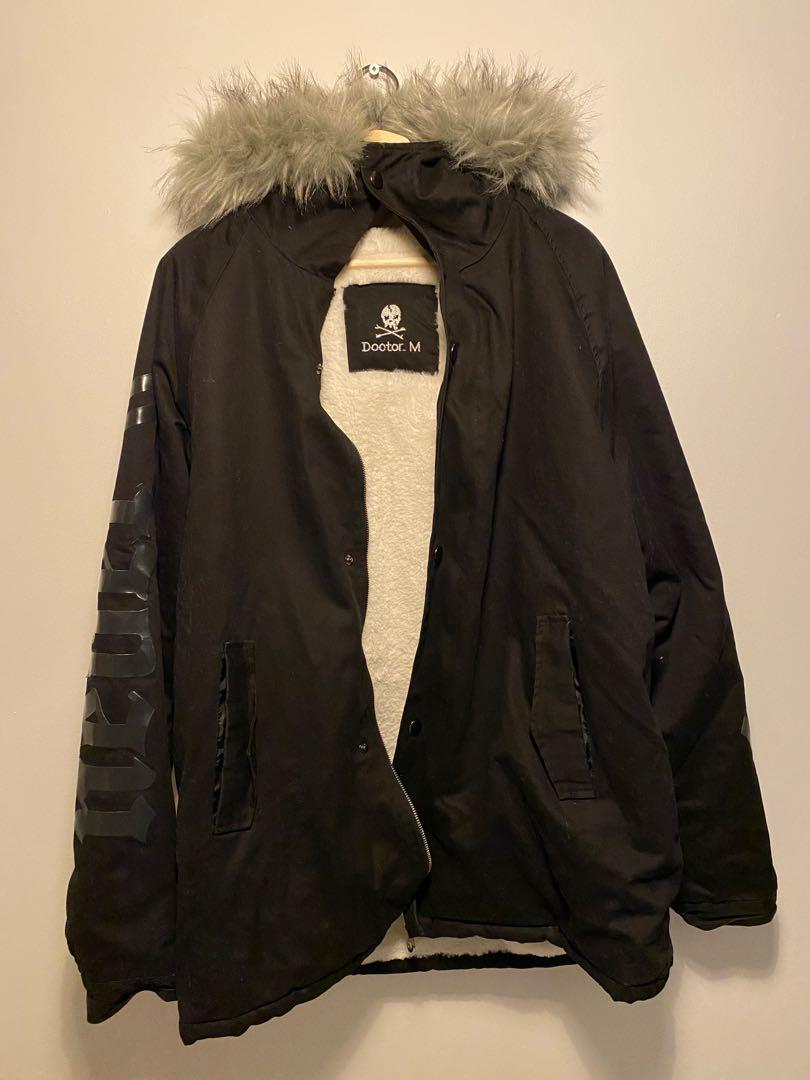 Doctor M Double Sided Furry Coat Size M