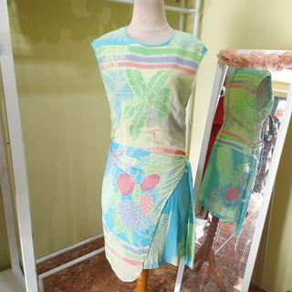 Dress batik keris fashion