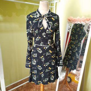 Dress flower h&m