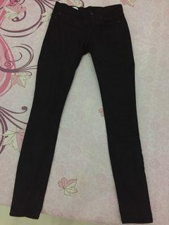 GAP Legging Jeans Black size 24 fit size 25-26 lokal