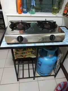 Gas stove plus gas stove stand