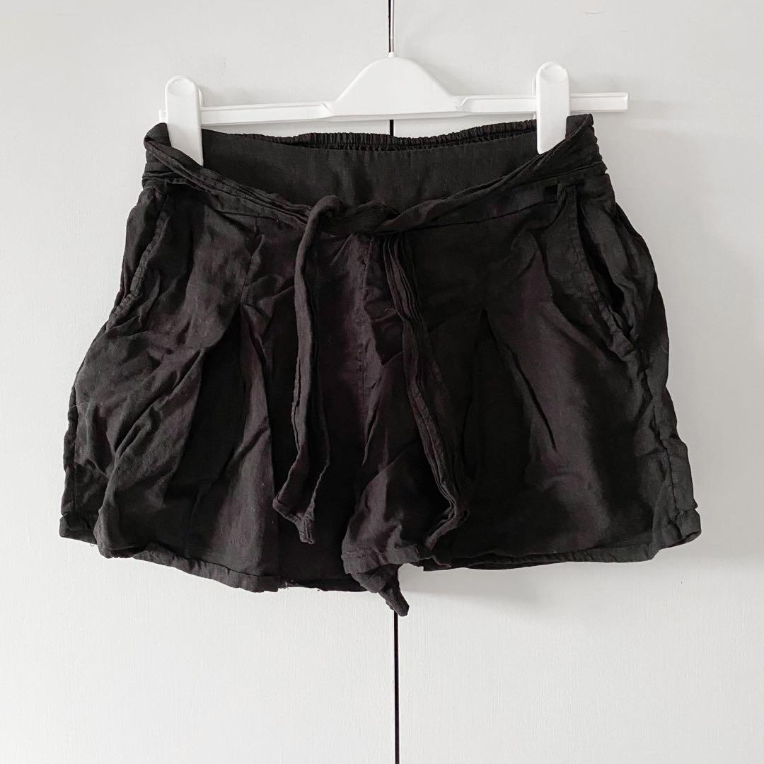 glassons linen shorts