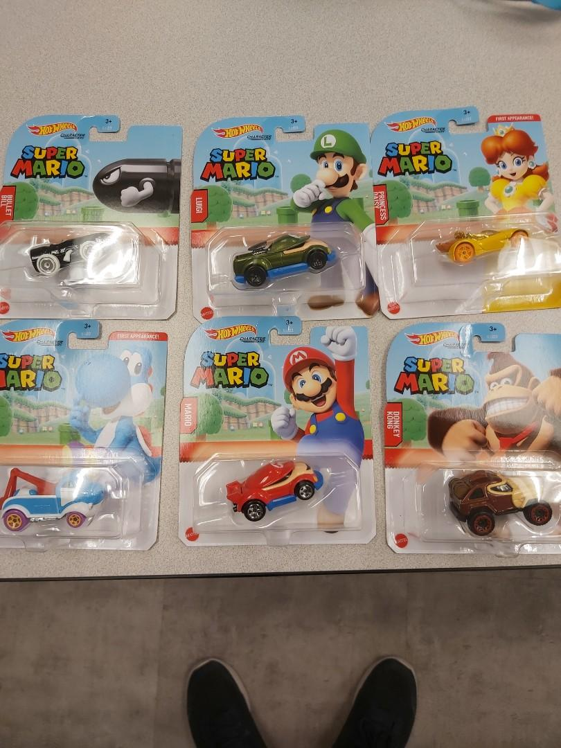 Hot wheel super Mario characters car