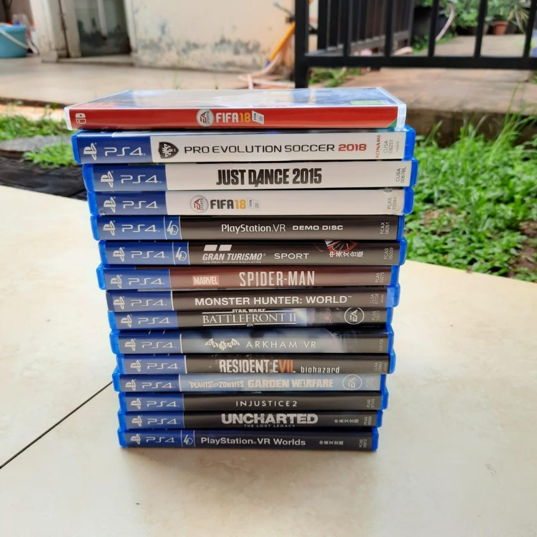 FIFA // GRAND TURISMO  // Kaset PS 4 start from 50rb - 225rb
