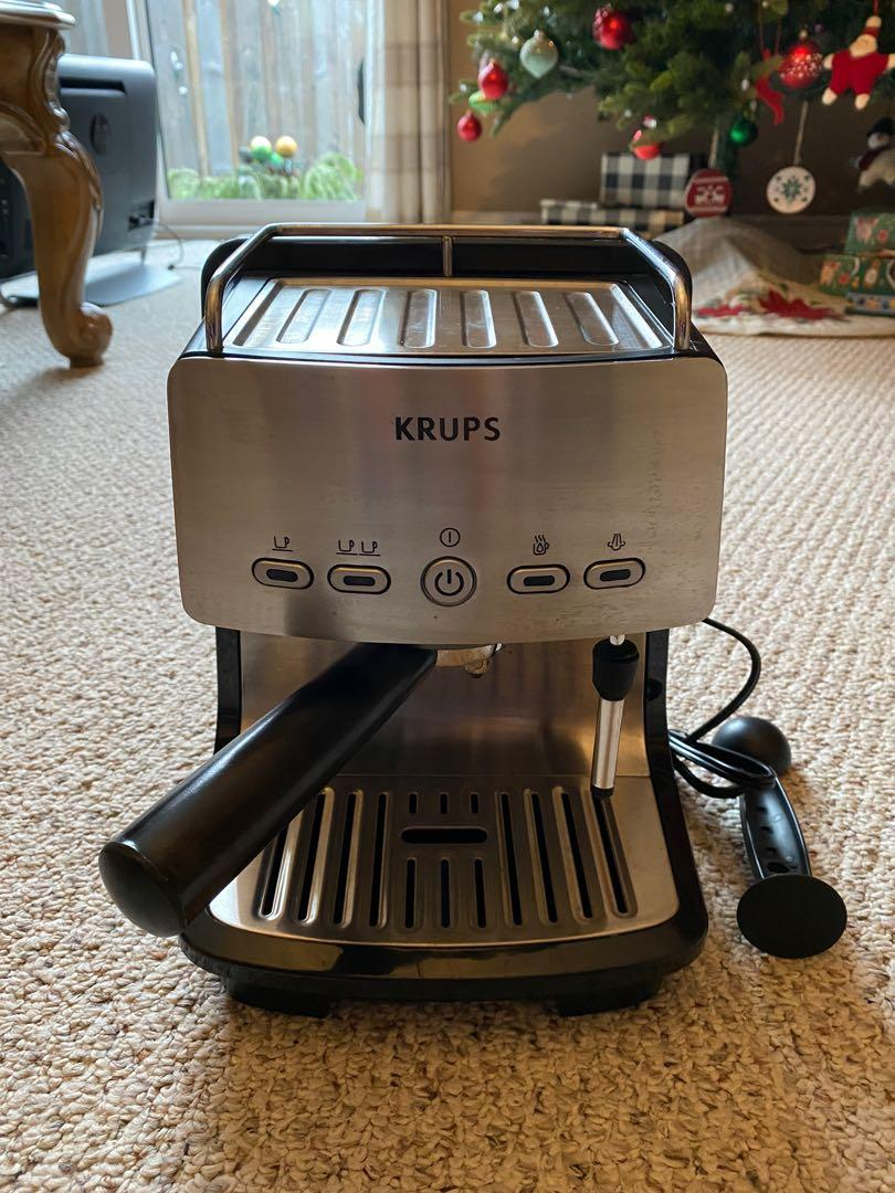 Krups steam & pump espresso machine and frother