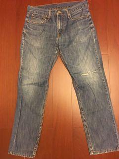 Levi's levis 水洗牛仔褲 W32 L30