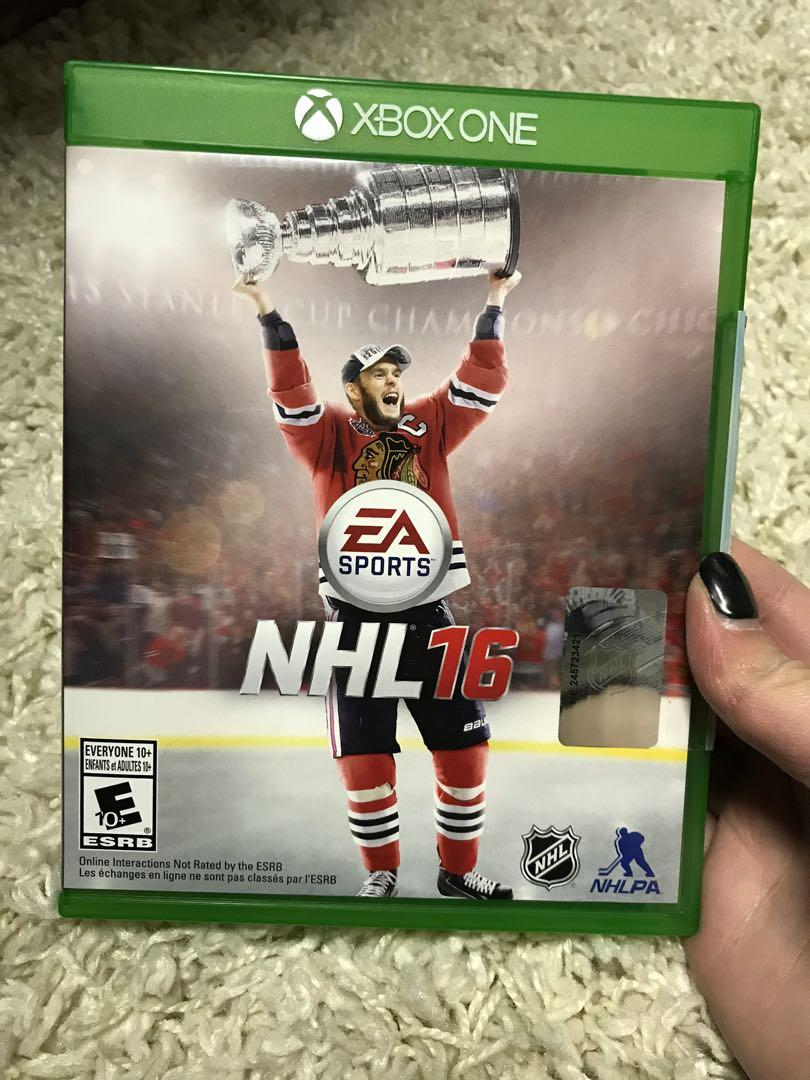 NHL16 for Xbox One